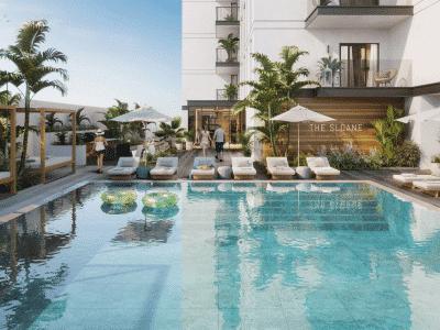 Propriété de la piscine de Dubaï JVC