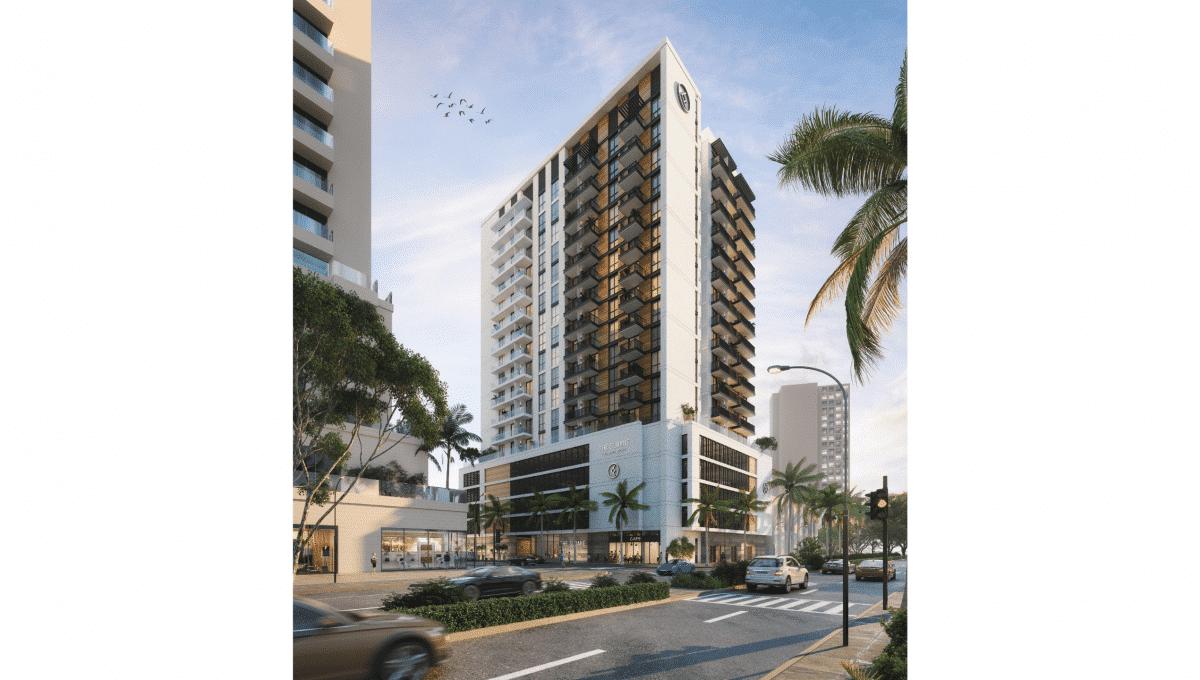 Immobilie The Sloane Dubai JVC Aussenansicht