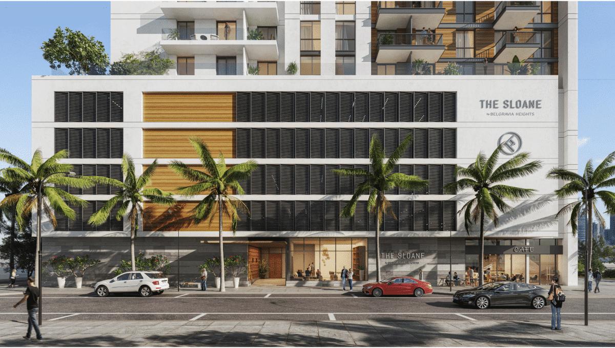 Immobilie The Sloane Dubai JVC Eingangsbereich