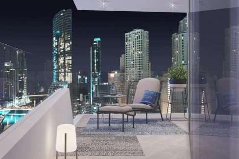Apartment Dubai Marina SM Balkon