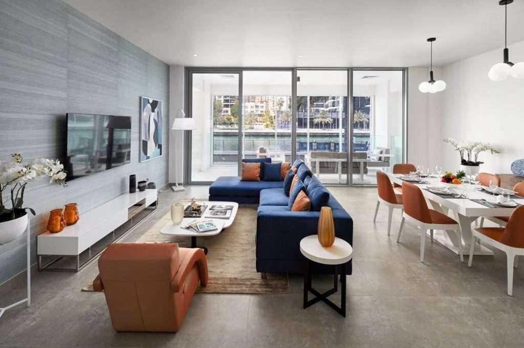 Apartment Dubai Marina SM Wohnbereich