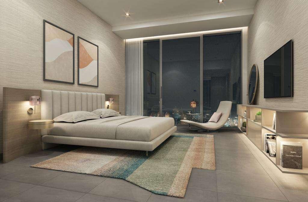 Apartment Dubai Marina Schlafzimmer