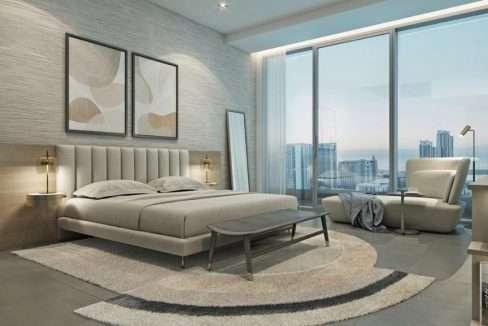Apartment Dubai Marina Stella Maris Schlafzimmer
