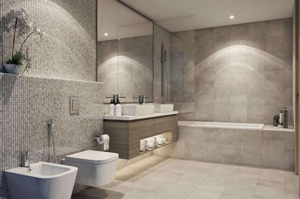Badezimmer Apartment Dubai Marina SM