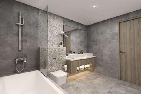 Badezimmer SM Dubai Marina Wohnung