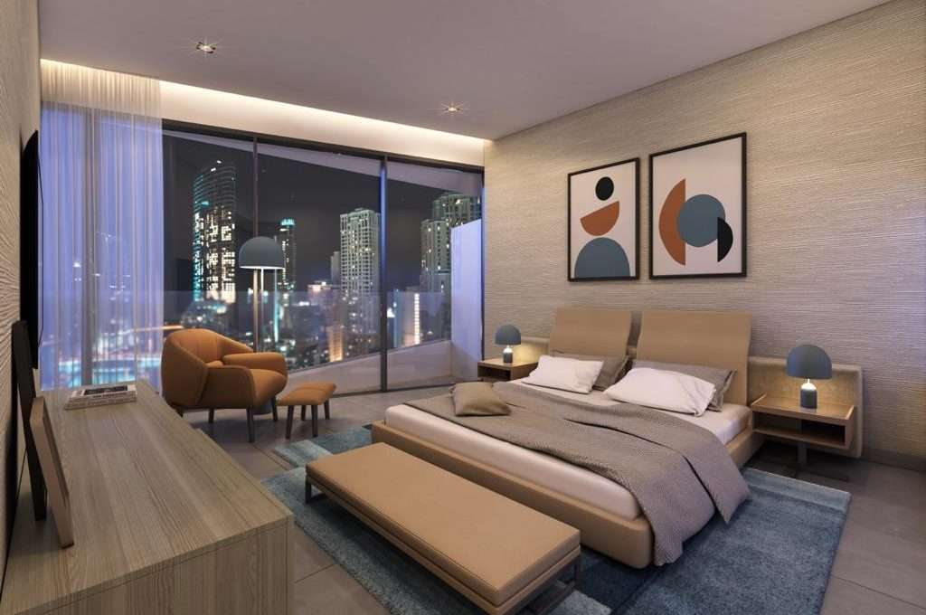 Dubai Marina Apartment Stella Maris Schlafzimmer