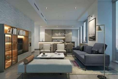 Stella Maris Dubai Marina Wohnung Wohnzimmer