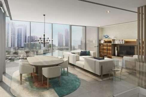 Wohnung Dubai Marina Ausblick