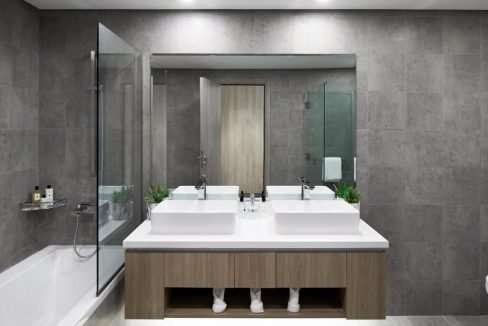 Wohnung Dubai Marina Badezimmer SM