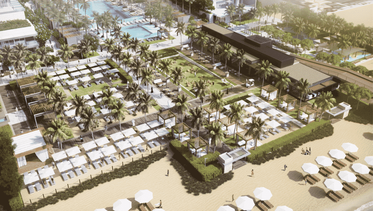 Außenbereich Dubai FIVE JBR Hotel Apartments