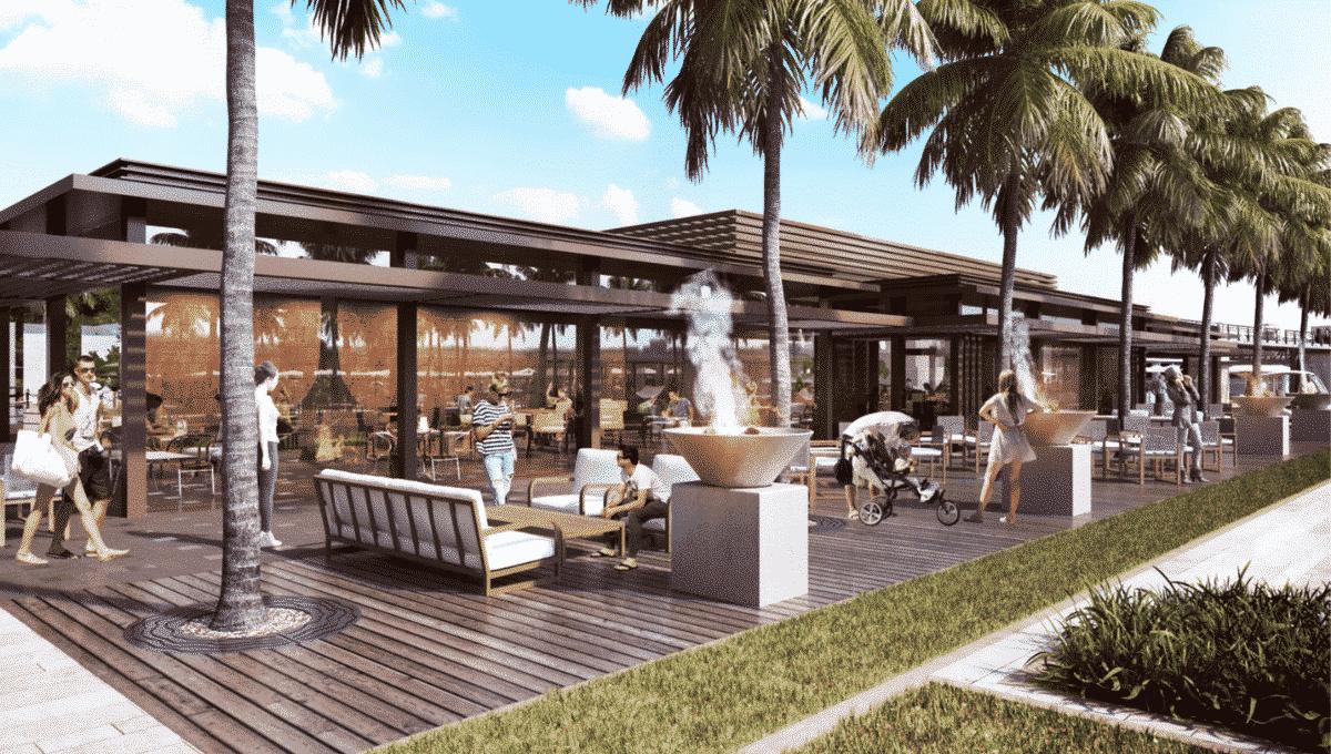 Aussenbereich Dubai FIVE JBR Hotel