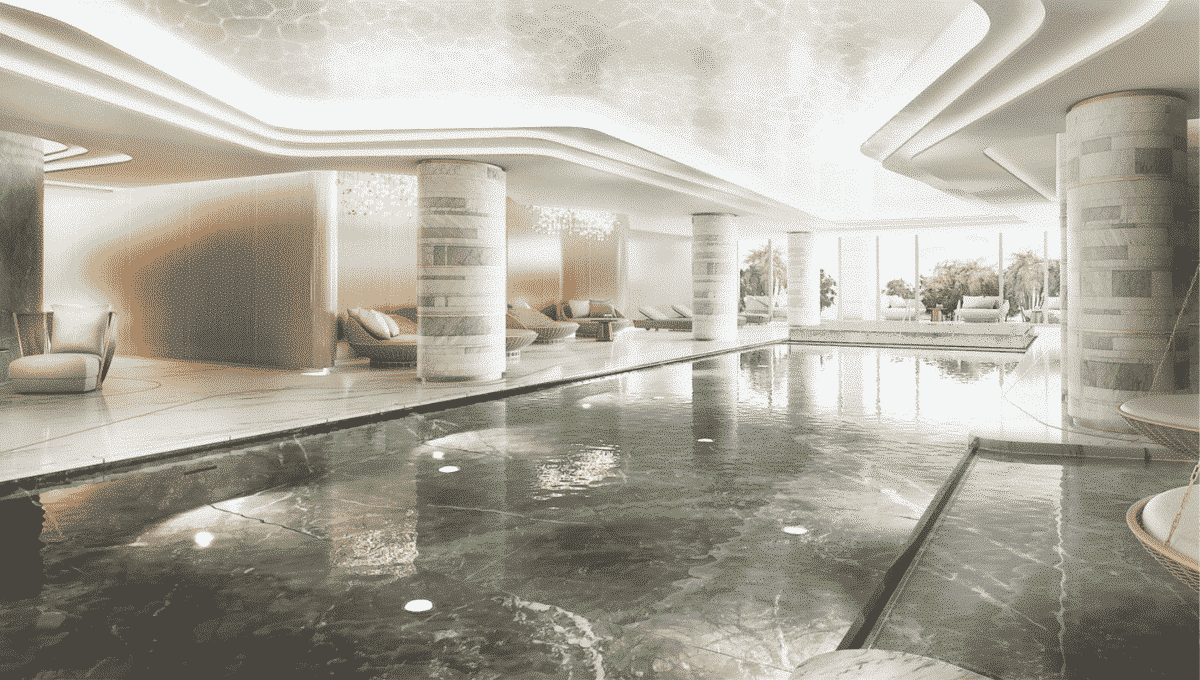 Dubai FIVE JBR Investition Immobilie Spabereich