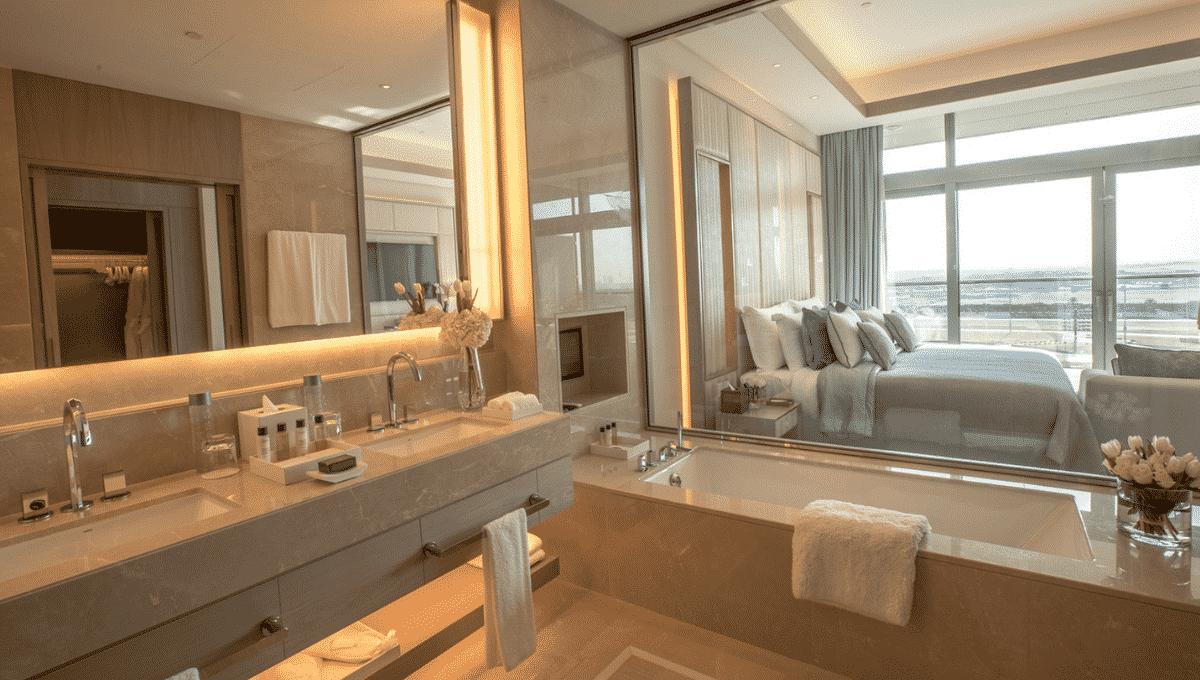 Dubai FIVE JBR Investmentimmobilie Badezimmer
