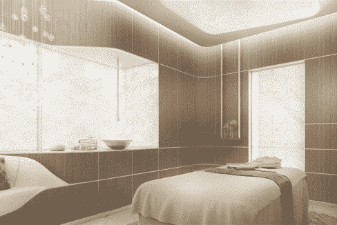 Dubai FIVE JBR Spabereich Behandlungsraum
