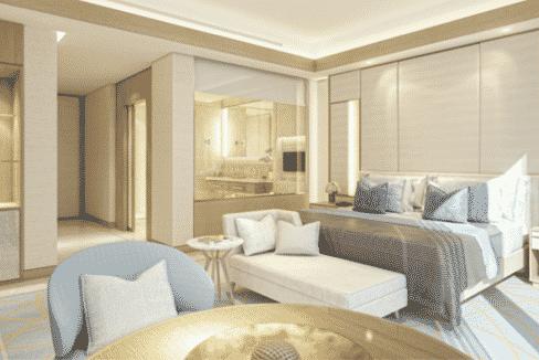 Dubai FIVE JBR Wohnungen Wohnzimmer