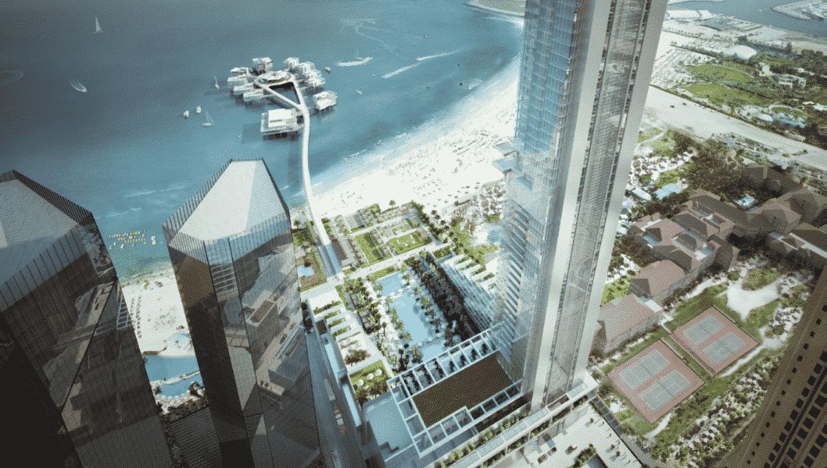 Hotelapartment mit Mietgarantie in Dubai JBR