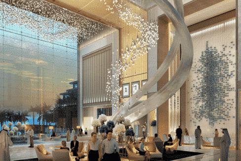 Lobby Dubai FIVE JBR Apartmenthotel